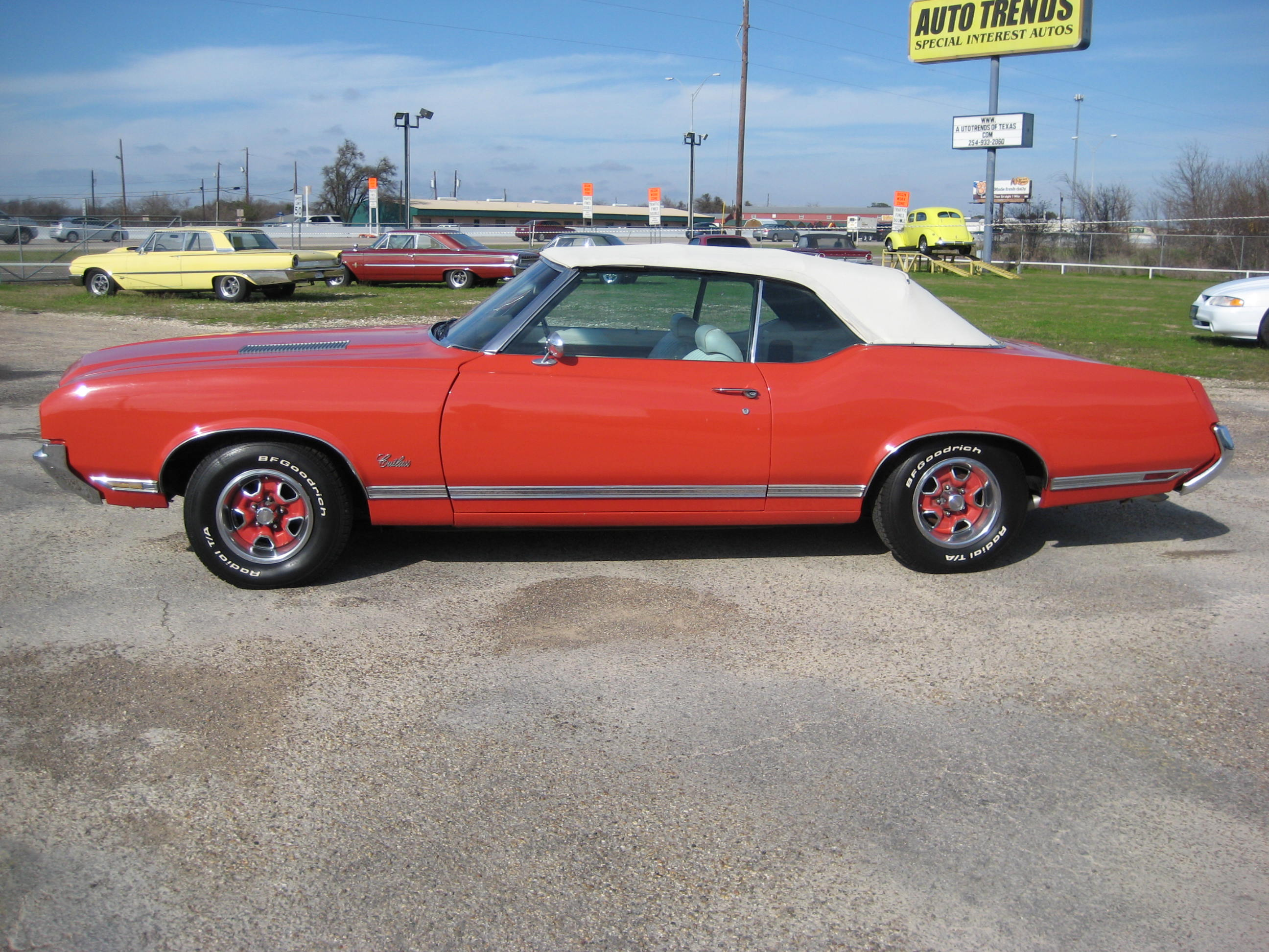 1971 Cutlass Convertible Autotrends