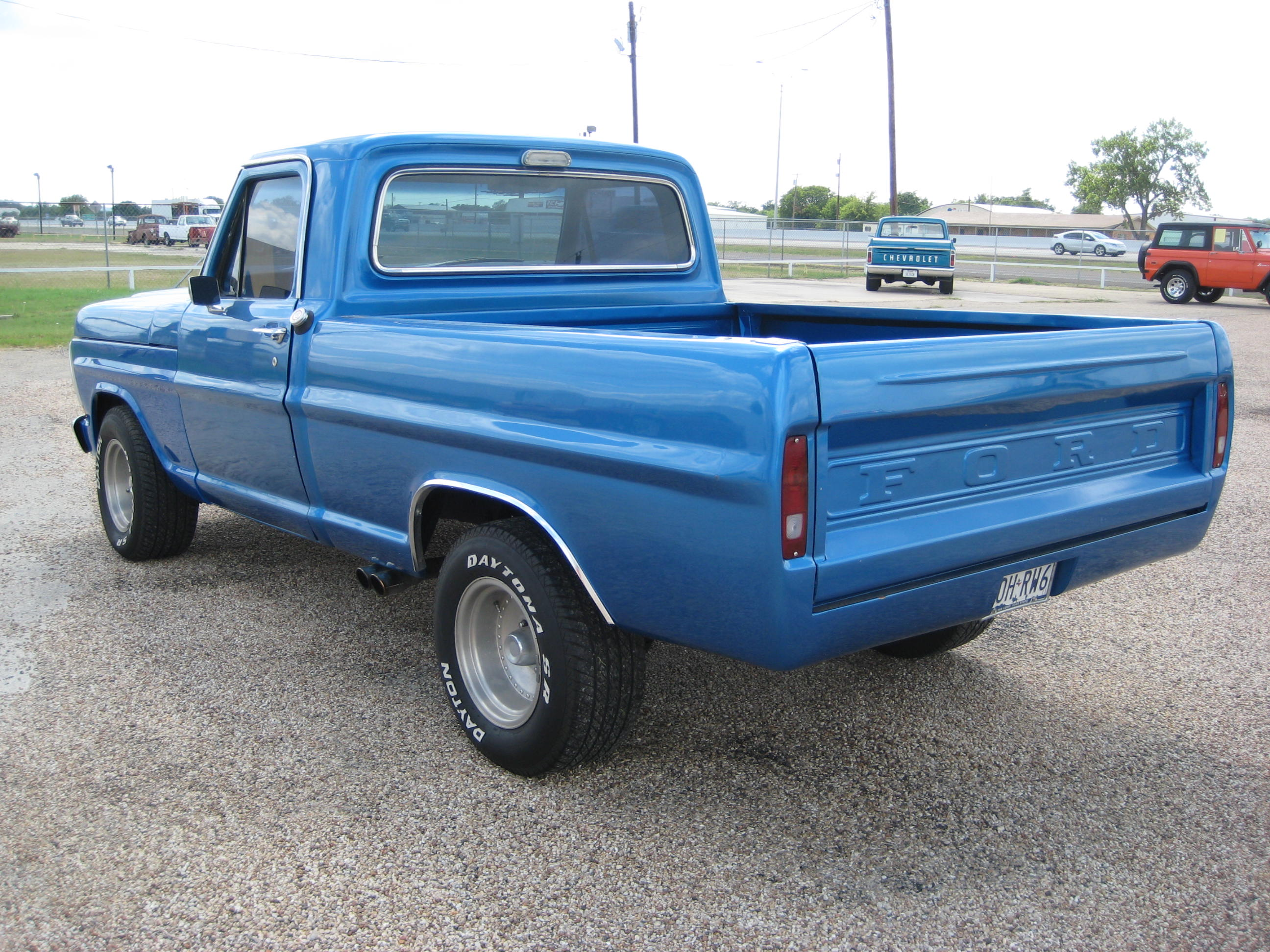 1970 ford f100 4x4