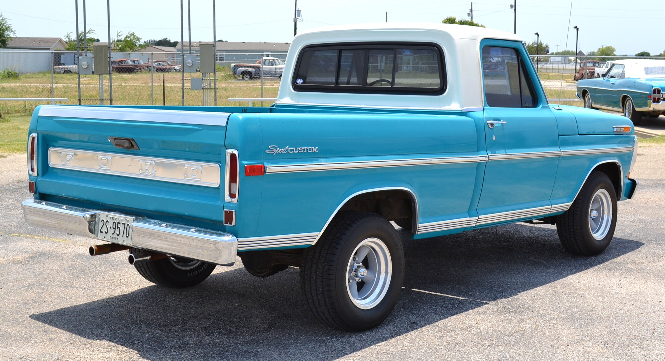 1971 ford f100 custom for sale by owner in texas. Black Bedroom Furniture Sets. Home Design Ideas