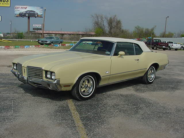 1972 Cutlass Convertible Autotrends